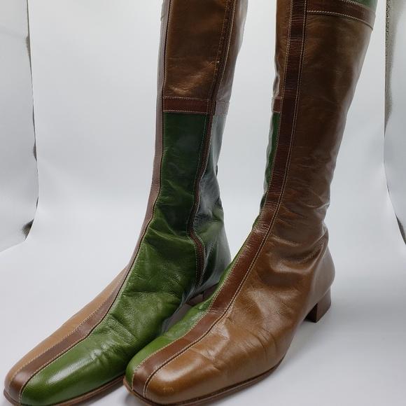Valentino Garavini Jacquard Boots